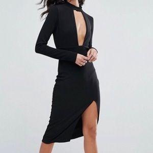 ASOS Split Midi Dress